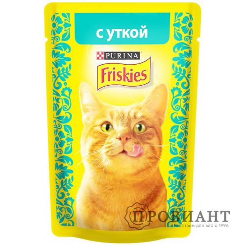 Корм для кошек Friskies с уткой 85 г