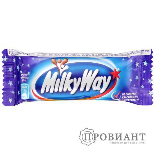 Батончик шоколадный MilkyWay молочный с суфле 26г