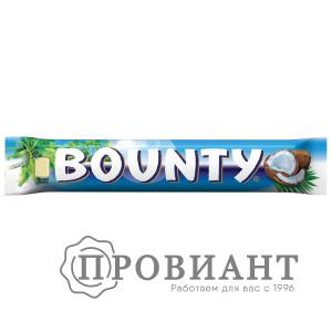Батончик шоколадный Bounty молочный с мякотью кокоса 55г
