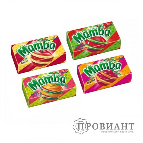 Жевательные конфеты Mamba 2в1 26,5г