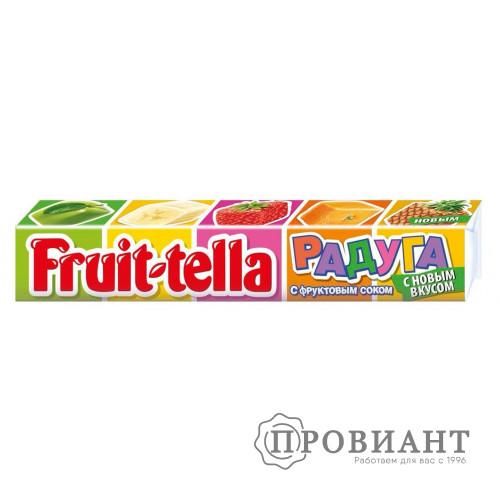 Жевательные конфеты Fruit-tella с фруктовым соком 41г