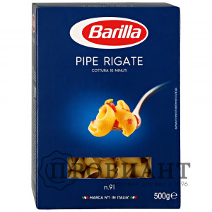 Макаронные изделия Barilla Pipe Rigate n.91 500г