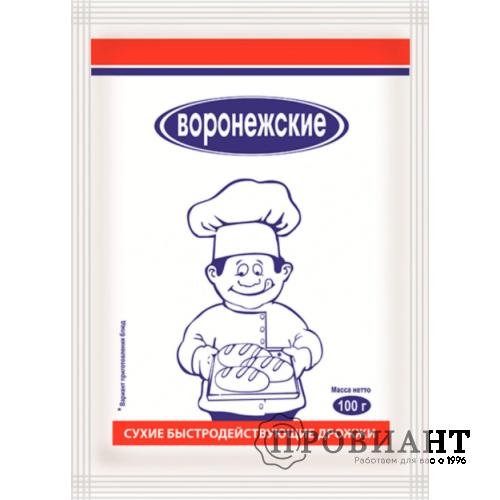 Дрожжи хлебопекарные сухие Воронежские 100г