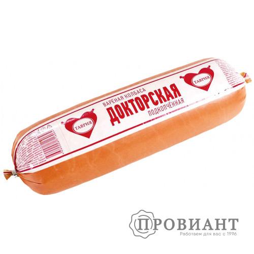 Колбаса Таврия докторская подкопченная (вес)