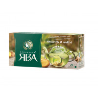 Чай зеленый Принцесса Ява имбирь и лайм 25п