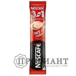 Кофе Nescafe классический растворимый 3в1 14.5г