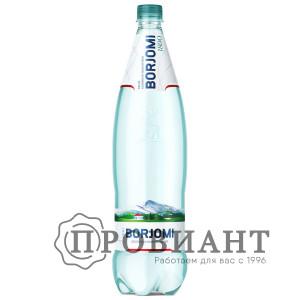 Вода минеральная лечебно-столовая Borjomi пэт 1,25л