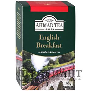 Чай Ahmad Tea English Breakfast чёрный среднелистовой 100г