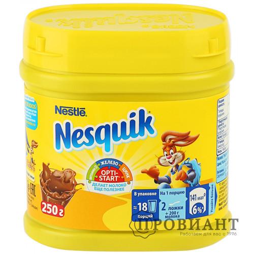 Какао Nestle Nesquik Opti-Start быстрорастворимый 250г