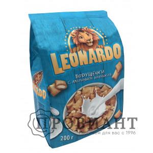 Подушечки Leonardo с молочной начинкой 200г