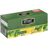 Чай Etre зелёный с лимоном 25п