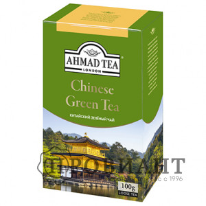 Чай Ahmad Tea Chinese Green Tea зелёный листовой 100г