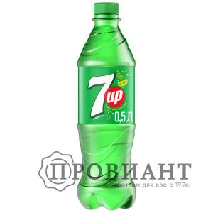 Газированный напиток 7-UP лимон лайм 0,5л