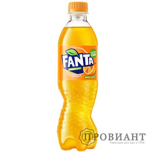 Газированный напиток Fanta апельсин 0,5л
