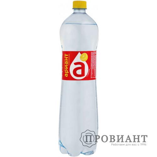 Вода минеральная Ариант лимон 1,5л