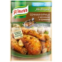 Приправа Knorr сочная курица с чесноком и травами 27г